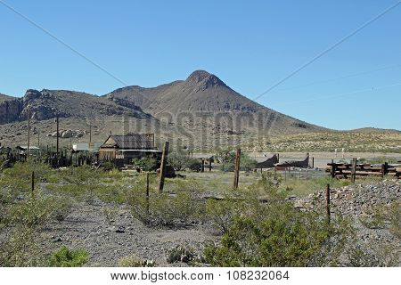An Old Dilapidated Farm in New Mexico