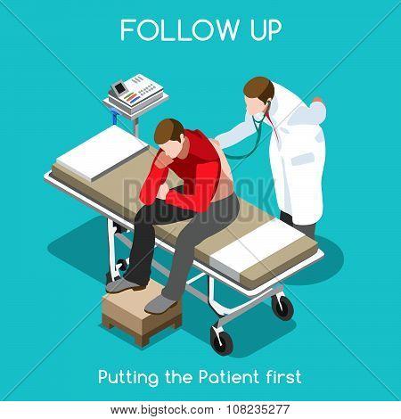 Hospital 15 People Isometric