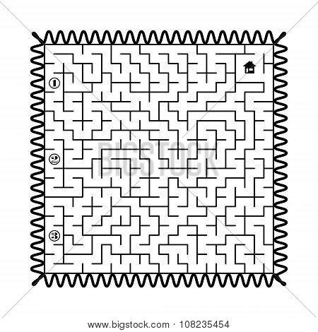 Labyrinth - Post Stamp