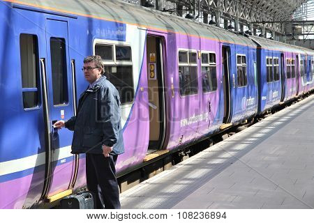 Train In England