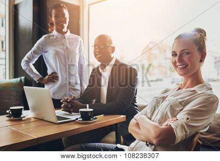 Group Of Successful Entrepreneurs