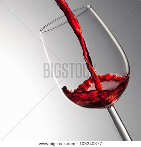 pouring red wine, wine splash, wine tasting concept poster