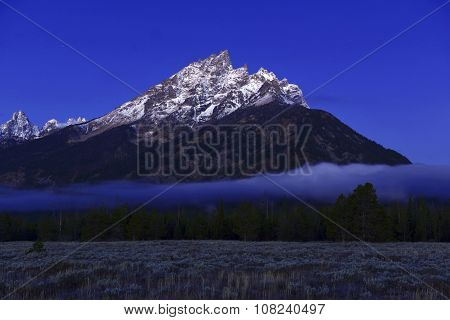 Grand Teton and the Teton Range, Grand Teton National Park, Wyoming, USA