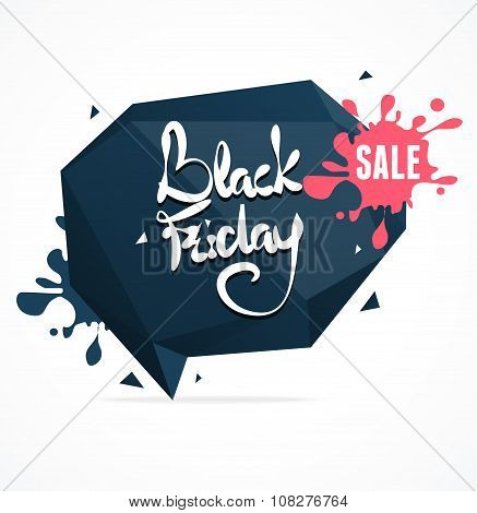 Black Friday Sale. Vector