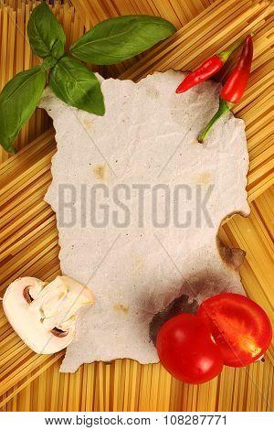 Blank Recipe Page