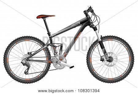 Full-suspension Mountain Bike