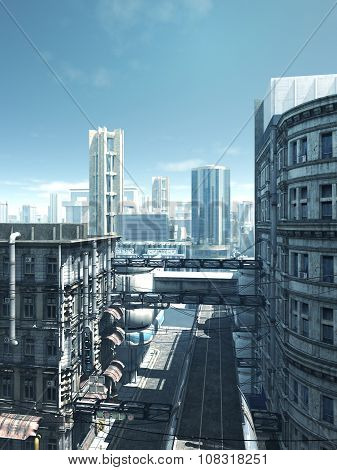 Future City - Deserted Streets