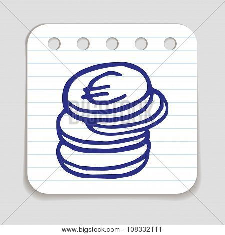 Doodle Coins icon.
