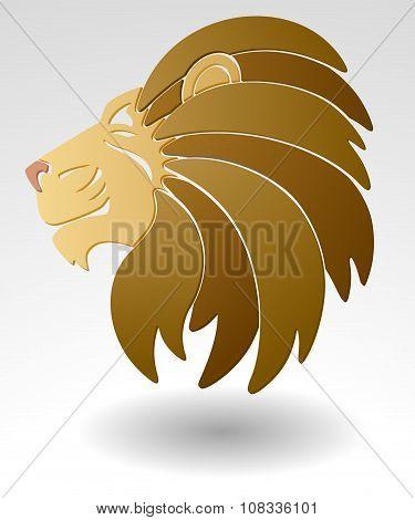 Lion Mascot.