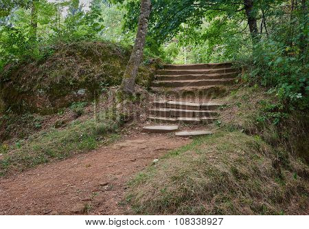 Old Stone Stairway