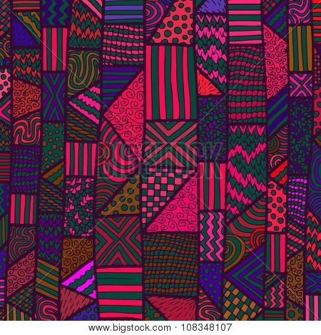 Zentangle Lines Color Background 2