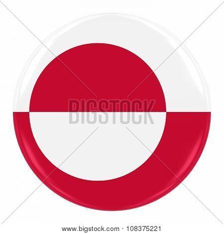 Zimbabwean Flag Badge - Flag Of Zimbabwe Button Isolated On White