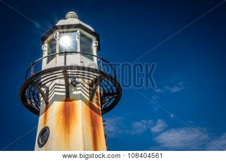 St. Ives lighthouse close up
