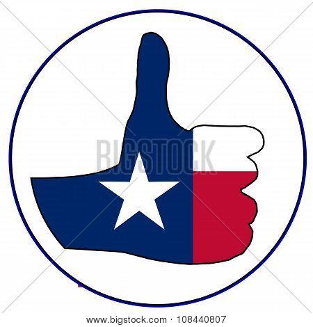 Thumbs Up Texas