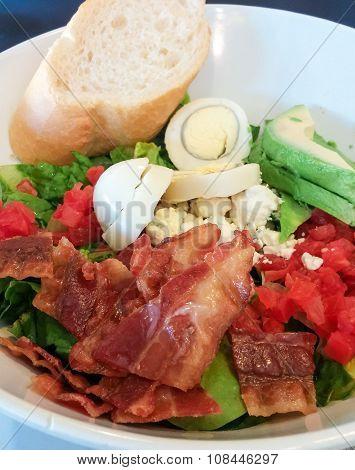 Cobb Salad With Bread