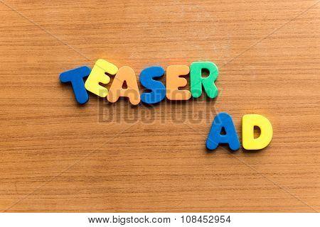 Teaser Ad