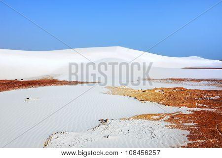 White Sand Dunes, Socotra