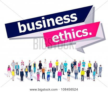 Business Ethics Integrity Honesty Trust Concept poster