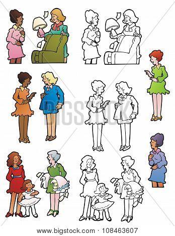 Women Socializing