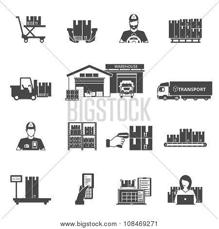 Storage Icons Set