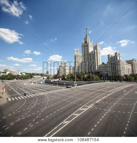 Moscow. One Of Seven Sisters