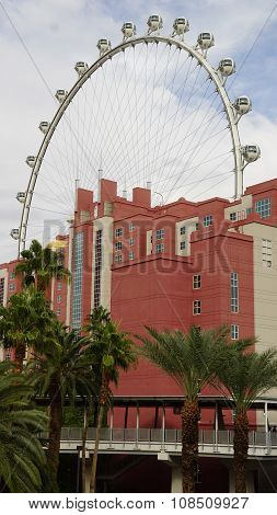 The High Roller Wheel at LINQ in Las Vegas
