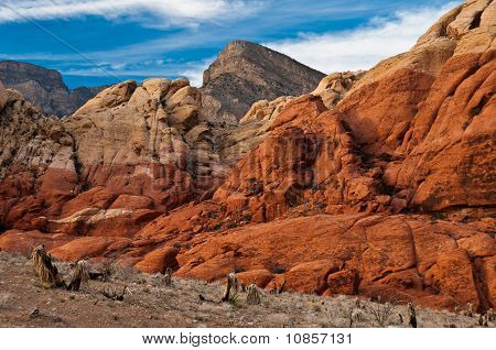 Red Rock Canyon Rocks