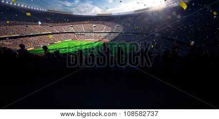 Football Arena Stadium Day championship win