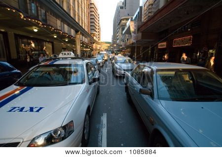 Sydney Cbd traffico