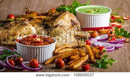 Piri Piri Spicy Chicken