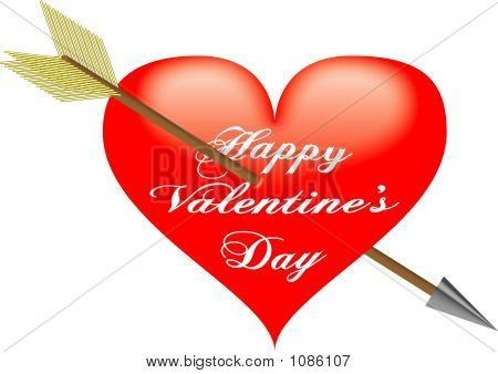 Happy Valentine\'S Day - Vector Illustration