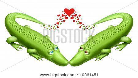 Crockodiles In Love