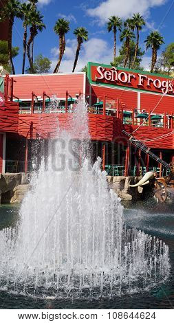 Senor Frogs Mexican Restaurant in Las Vegas