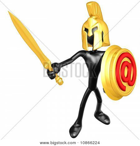 Spartan With Email Shield
