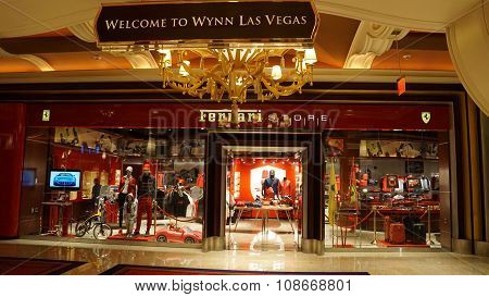 Ferrari Store at Wynn Las Vegas and Encore in Las Vegas