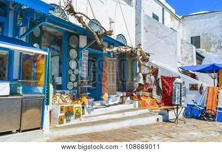 Shopping In Sidi Bou Said