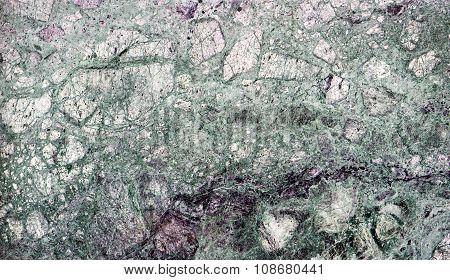 Texture Of Natural Marble Slab Macro