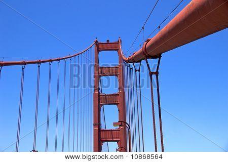 Golden Gate Bridge (detail)