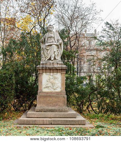 Statue of Franz Schubert, Stadpark, Vienna