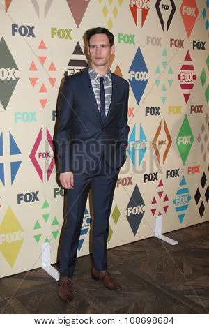 LOS ANGELES - AUG 6:  Cory Michael Smith at the FOX TCA Summer 2015 All-Star Party at the Soho House on August 6, 2015 in West Hollywood, CA