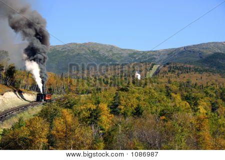 Autumn On Mount Washington - New Hampshire