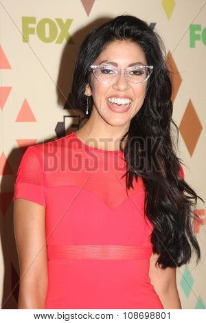 LOS ANGELES - AUG 6:  Stephanie Beatriz at the FOX TCA Summer 2015 All-Star Party at the Soho House on August 6, 2015 in West Hollywood, CA