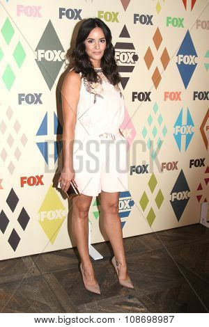 LOS ANGELES - AUG 6:  Melissa Fumero at the FOX TCA Summer 2015 All-Star Party at the Soho House on August 6, 2015 in West Hollywood, CA