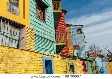 Caminito Street In La Boca, Buenos Aires