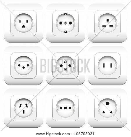 Sockets Varieties Different Types