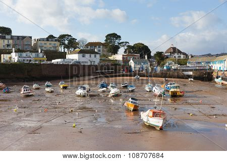 Paignton harbour Devon England near tourist destination of Torquay