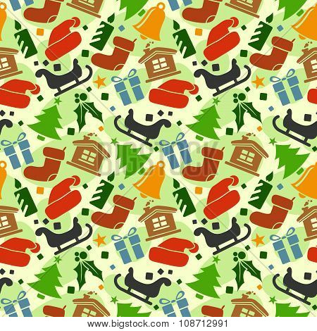 Christmas Seamless Vector Pattern 24