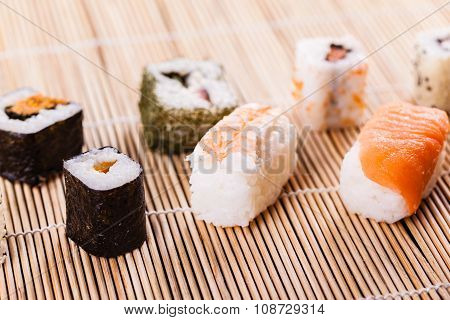 Delicious Sushi Assortment