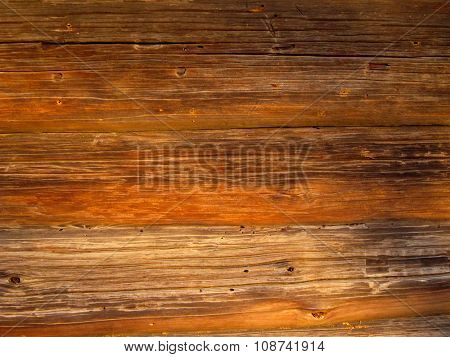 Wooden Rustic Vintage Plank Board Texture Background Closeup