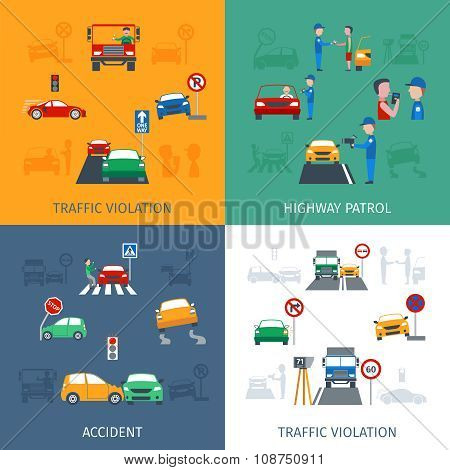 Traffic Violation Set